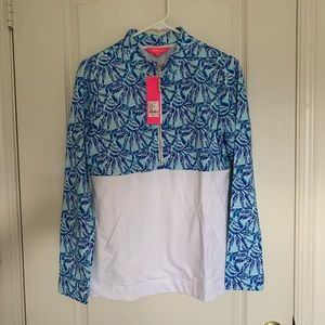 NWT Lilly Pulitzer Asher Popover 50+ UPF